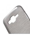 Carcasa protectie spate din gel TPU pentru Samsung Galaxy J5 - gri