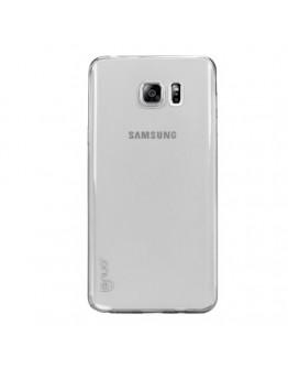 Carcasa protectie spate LENUO din gel TPU pentru Samsung Galaxy Note 5 - gri