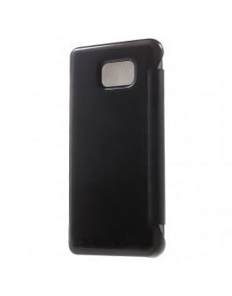 Husa de protectie flip cover pentru Samsung Galaxy Note 5 - neagra