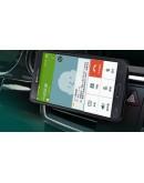 Carcasa protectie cu suport de masina pentru Samsung Galaxy Note 4 N910 - alba