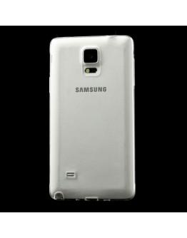Carcasa protectie spate gel TPU 0.5mm pentru Samsung Galaxy Note 4 N910 - transparenta