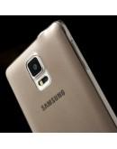 Carcasa protectie spate gel TPU 0.5mm pentru Samsung Galaxy Note 4 N910 - gri