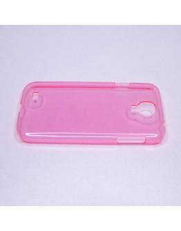 Carcasa protectie spate din plastic pentru Samsung Galaxy S4 - roz