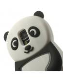 Carcasa protectie spate Panda din silicon pentru Samsung Galaxy  S5 G900