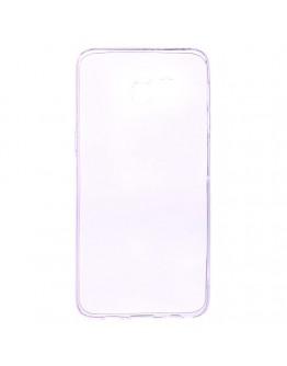 Carcasa protectie spate din gel TPU pentru Samsung Galaxy S6 Edge Plus - mov