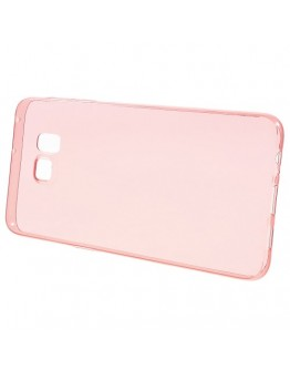 Carcasa protectie spate din gel TPU pentru Samsung Galaxy S6 Edge Plus - rosie