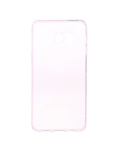 Carcasa protectie spate din gel TPU pentru Samsung Galaxy S6 Edge Plus - roz