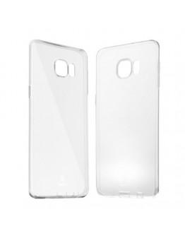 Carcasa protectie spate Baseus din gel TPU pentru Samsung Galaxy S6 Edge Plus - transparenta