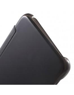 Husa de protectie flip cover pentru Samsung Galaxy S6 Edge Plus - neagra
