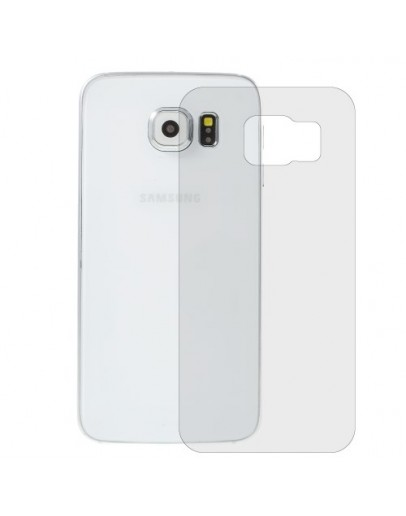 Sticla securizata 0.3 mm protectie spate pentru Samsung Galaxy S6 Edge