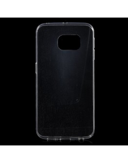 Carcasa protectie ultra subtire 0.6 mm pentru Samsung Galaxy S6 Edge, transparenta
