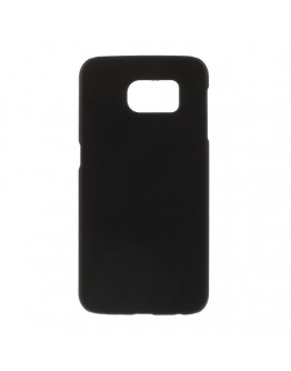 Carcasa protectie spate mata din plastic pentru Samsung Galaxy S6 - neagra