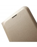 Husa protectie de tip flip cover CS pentru Samsung Galaxy S7 G930, gold