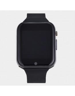 Smartwatch cu telefon incorporat GT08, camera, bluetooth - negru