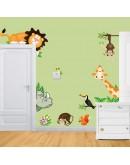 """Sticker perete """"Gradina zoologica"""""""
