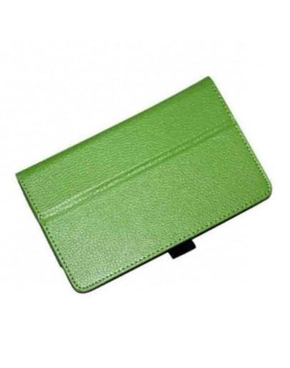 Husa protectie din piele ecologica pentru ASUS Fonepad 7 FE170CG - verde