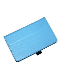 Husa protectie din piele ecologica pentru ASUS Fonepad 7 FE170CG - albastru deschis