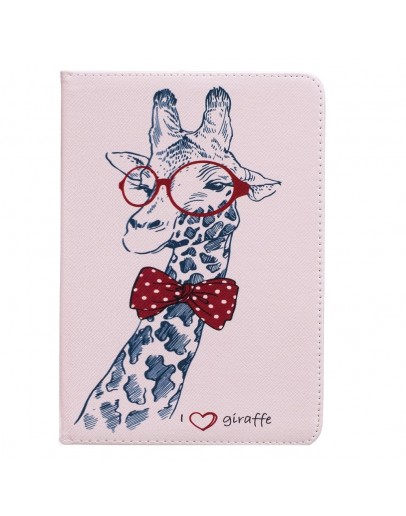 Husa protectie imprimata cu girafa pentru Kindle Paperwhite