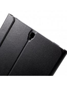 """Husa de protectie din piele ecologica pentru Samsung Galaxy Tab S3 9.7"""", Neagra"""