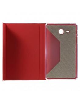 Husa protectie cu inchidere magnetica CS pentru Samsung Galaxy Tab A 7.0 T280/T285, rosie