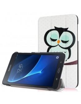 Husa protectie imprimata CS pentru Samsung Galaxy Tab A 7.0 T280/T285, albastra