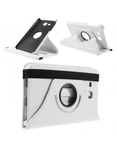 "Husa protectie cu rotire 360 grade pentru Samsung Galaxy Tab A 7.0"", alba"