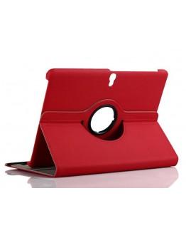 Husa protectie rotire 360 grade pentru Samsung Galaxy Tab S 10.5 - rosie