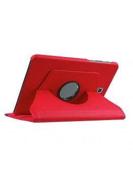 "Husa protectie cu rotire 360 grade pentru Samsung Galaxy Tab S2 8.0""- rosie"