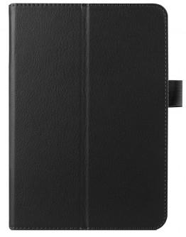 """Husa protectie din piele ecologica  pentru Samsung Galaxy Tab S2 8.0"""" T715 T710  - neagra"""