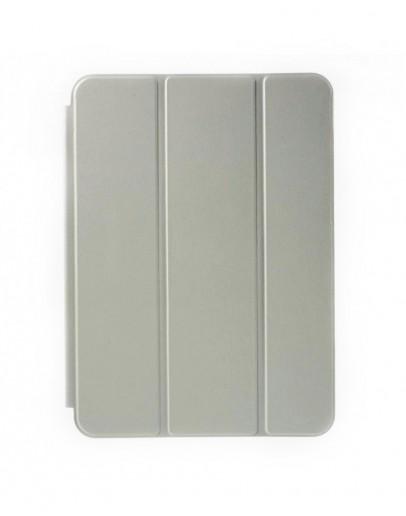 """Husa protectie din plastic si piele ecologica pentru Samsung Galaxy Tab S2 9.7"""" - gri"""