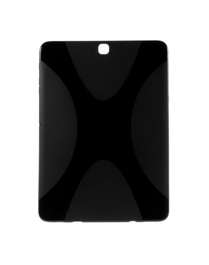"Carcasa protectie spate din gel TPU pentru Samsung Galaxy Tab S2 9.7"", neagra"