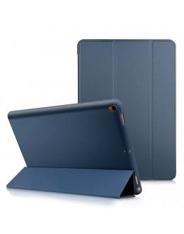 """Husa de protectie din piele ecologica si gel TPU pentru iPad Pro 10.5"""" (2017)/ Air 3 (2019), albastra"""