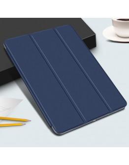 Husa de protectie din piele ecologica pentru iPad Pro 11'' (2018), albastra