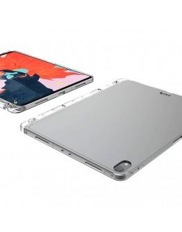 """Carcasa protectie spate cu slot pentru stilou pentru iPad Pro 11"""" (2018), transparenta"""