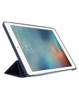 Husa de protectie cu carcasa spate din silicon pentru iPad 9.7 (2017/2018), albastru inchis