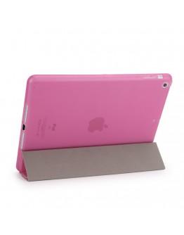 Husa protectie cu spate din gel TPU pentru iPad 9.7 (2017/2018), roz
