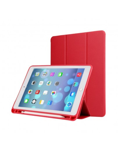 Husa cu spate din gel TPU pentru iPad Pro 12.9 inch (2nd generation), rosie