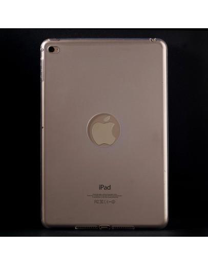 Carcasa protectie spate din gel TPU cu decupaj pentru iPad Mini 4 - transparenta