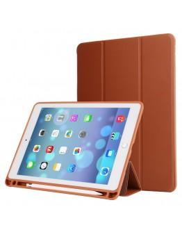 Husa protectie din piele ecologica si gel TPU pentru iPad Pro 10.5 (2017)/ Air 3 (2019), maro