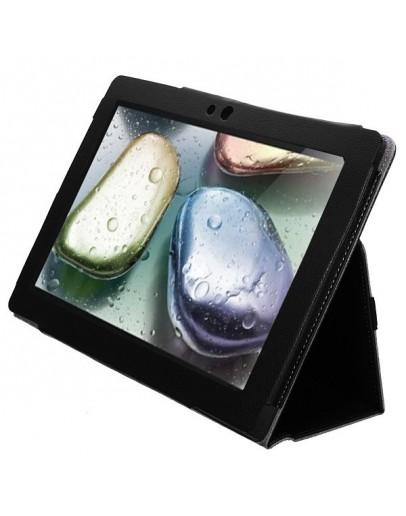 Husa protectie din piele ecologica pentru Lenovo S6000L